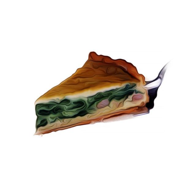 ほうれん草のチーズキシュ|タルトレシピ