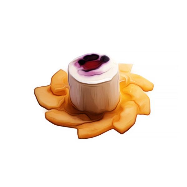 トロピカルアイス、バニラとラズベリー|アイスクリームレシピ