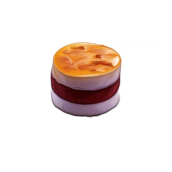 ラズベリーシャーベット、南国風 アイスクリームレシピ