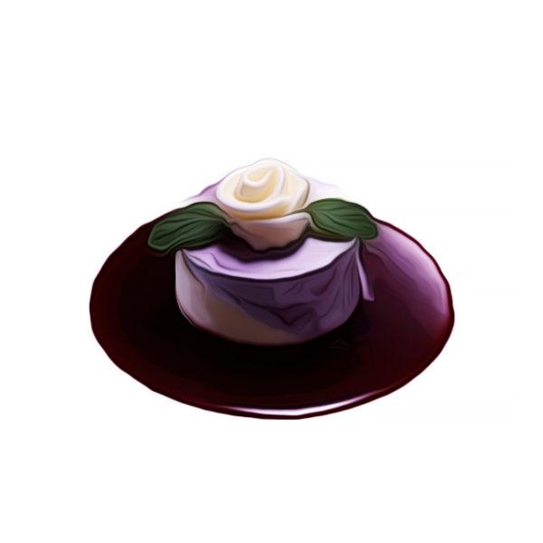 バラ絞り、二色アイスクリーム|アイスクリームレシピ