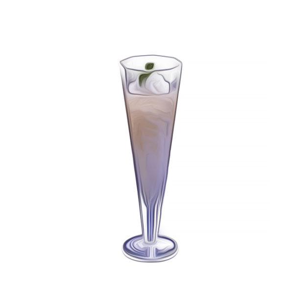レモンシャーベット、シャンパン添え|アイスクリームレシピ