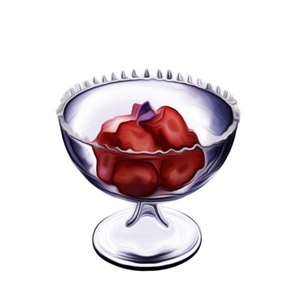クープグラセ・テュティ・フリュティ(1)|アイスクリームレシピ