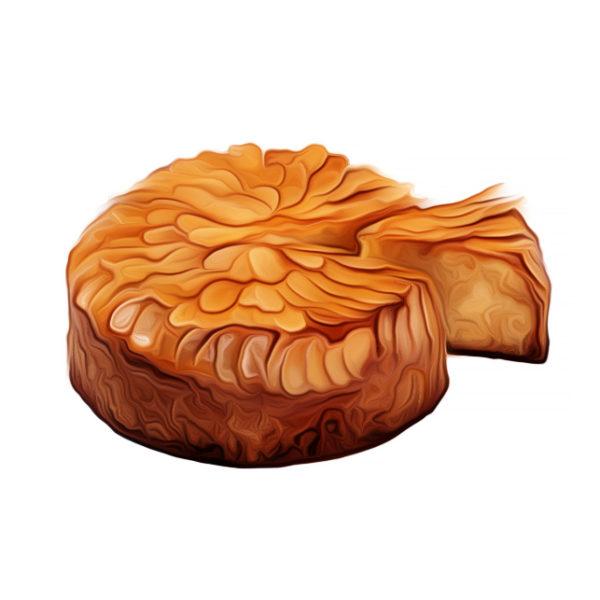 アーモンドヌガー・バターケーキ|焼き菓子レシピ