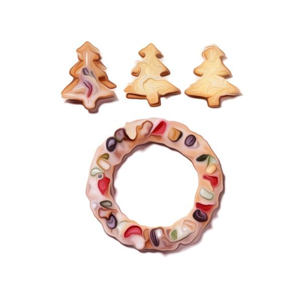 クリスマス・リングス|乾き菓子レシピ