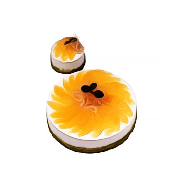 オレンジのムースケーキ|クリームデザートレシピ