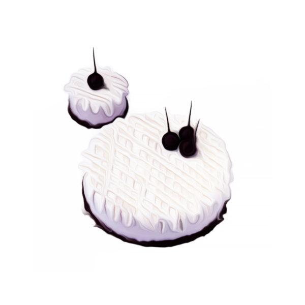 グロゼイユ・バター・ムースケーキ クリームデザートレシピ