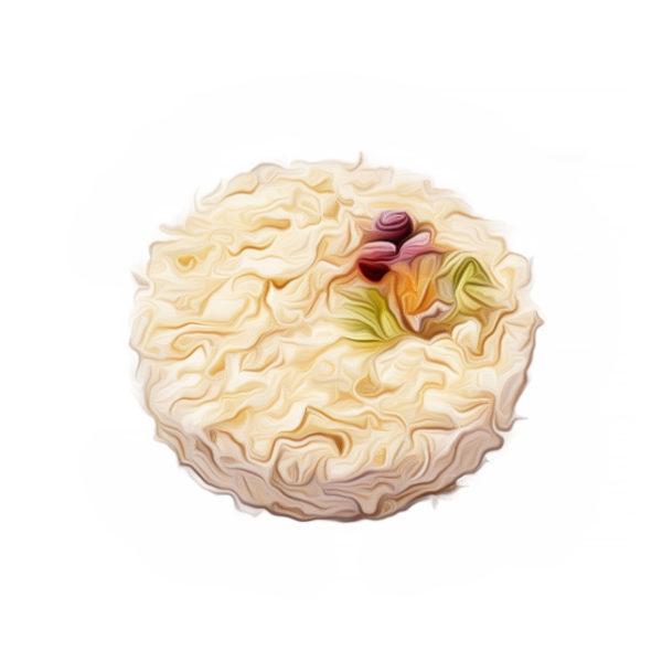 フランボワーズ風味のムースクリーム|クリームデザートレシピ