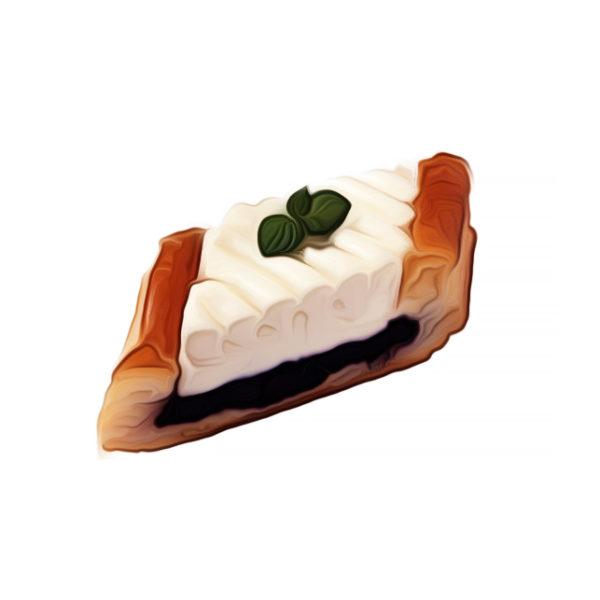 ブルーベリー・クリームチーズ・パイ|パイ生地レシピ