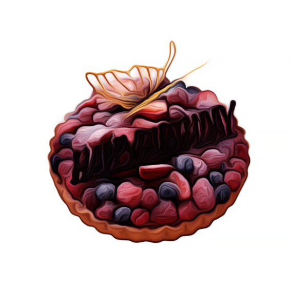 アーモンド・フルーツタルト|バースデーケーキレシピ