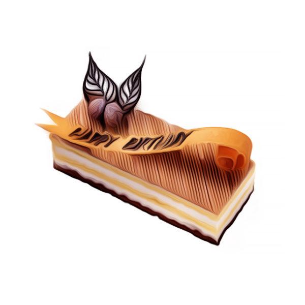 マロン・クリームケーキ|バースデーケーキレシピ