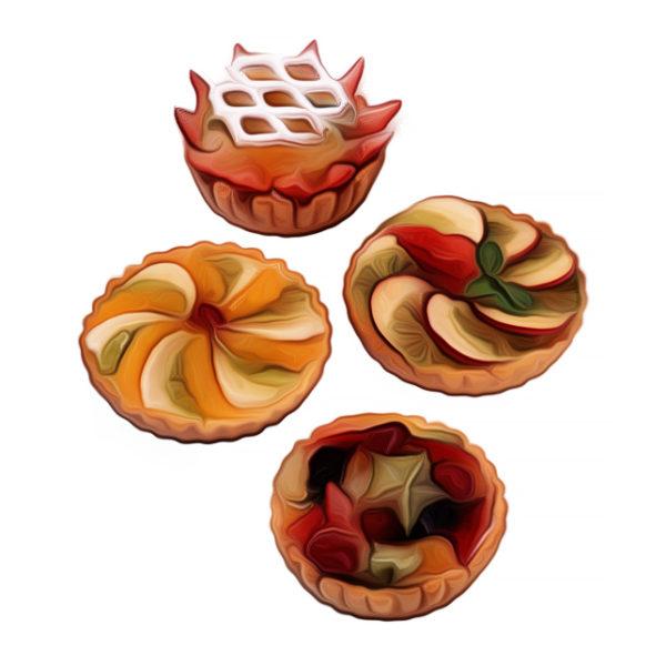 フレッシュ・フルーツパイ|商品開発向けレシピ