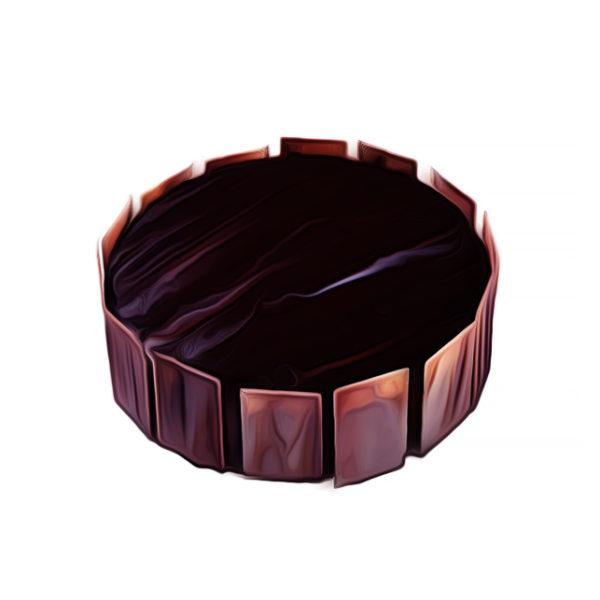レモン チーズ・チョコレートケーキ|チョコレートレシピ