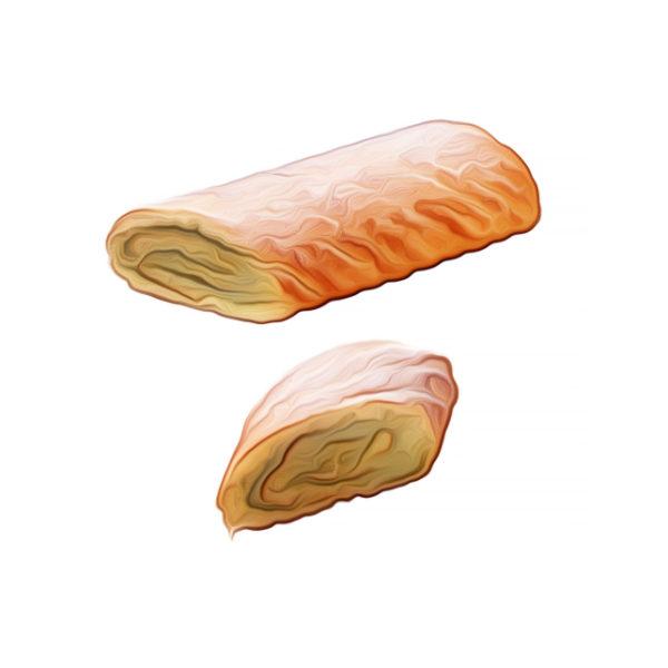 ピスターチ・ガナッシュ・ロールケーキ|チョコレートレシピ