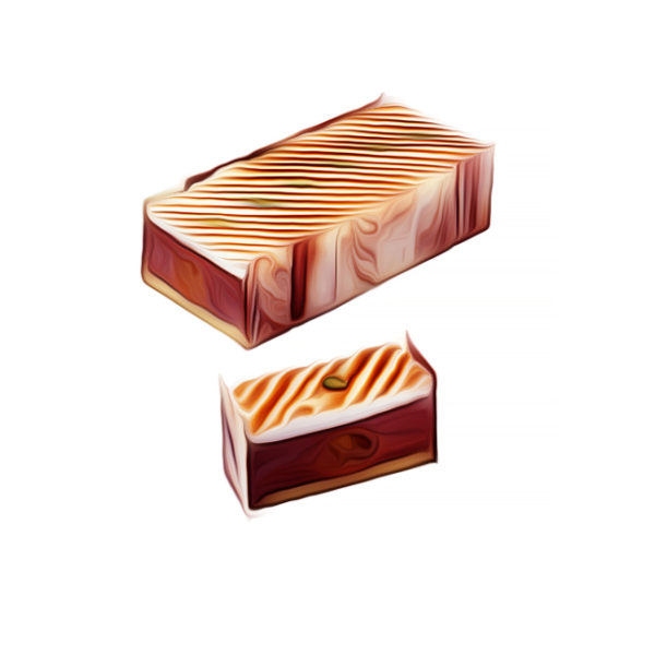 オレンジ・ガナッシュケーキ、メレンゲ飾り チョコレートレシピ