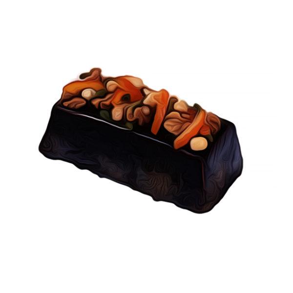 チョコレート・フルーツケーキ チョコレートレシピ