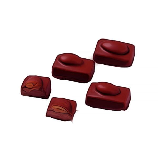 アーモンド・ チョコレート、エスパニョラ チョコレートレシピ