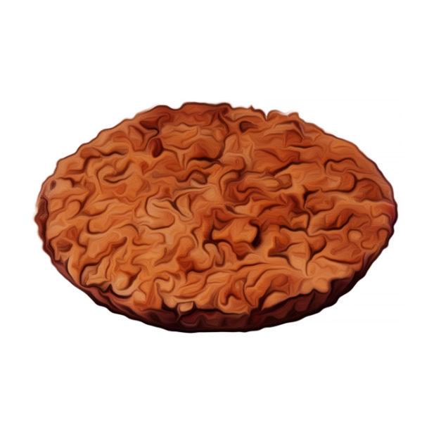 桃とラズベリーのクランブルパイ|ベジスイーツレシピ