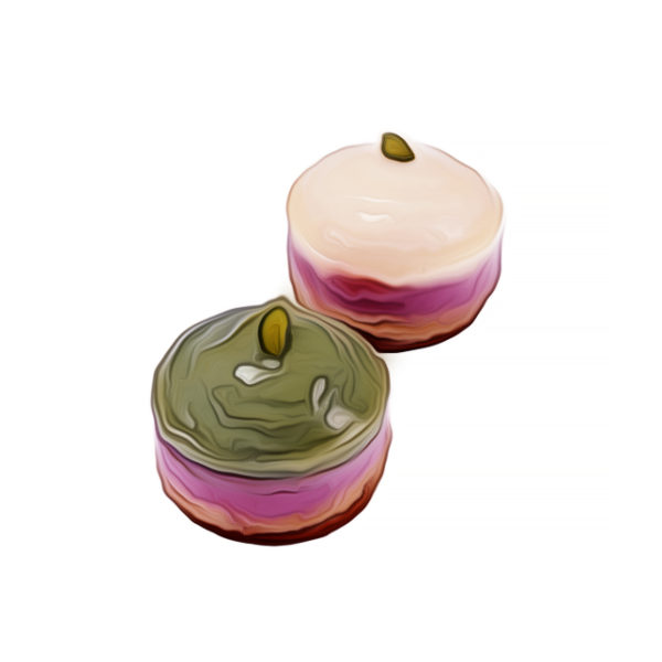 ラズベリー・べジクリームケーキ ベジスイーツレシピ