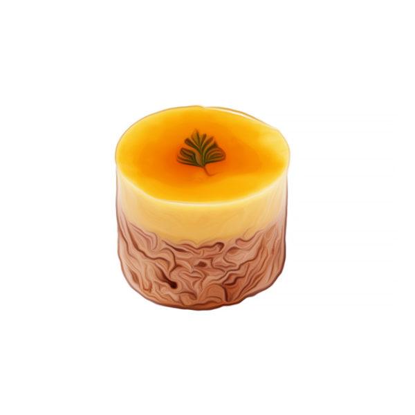 オレンジ豆腐クリームケーキ)|ベジスイーツレシピ