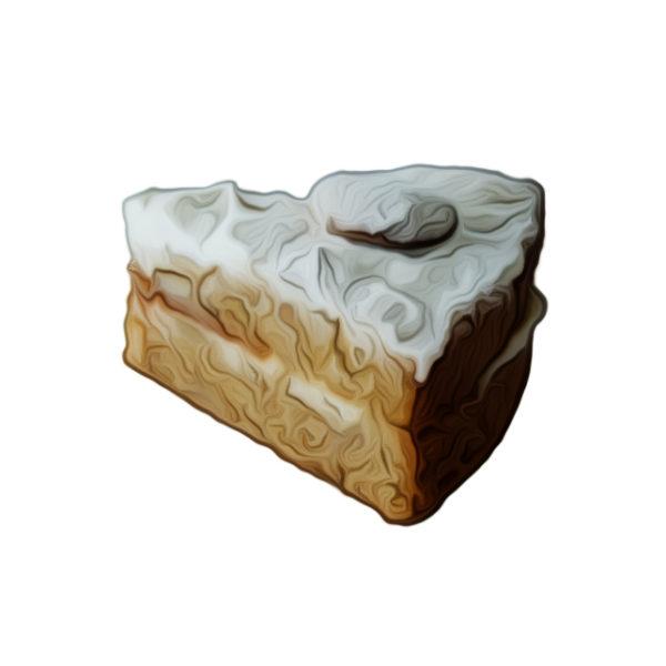 白花豆のバタークリームケーキ|会員専用メニュー