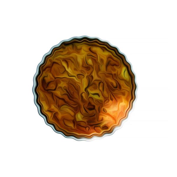 ジャガイモと白花豆のキッシュ|全粒粉洋菓子レシピ